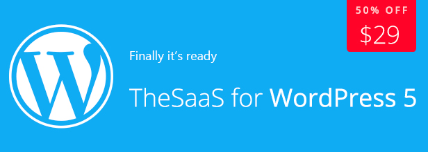 TheSaaS - Responsive Bootstrap SaaS, Software & WebApp WordPress Theme