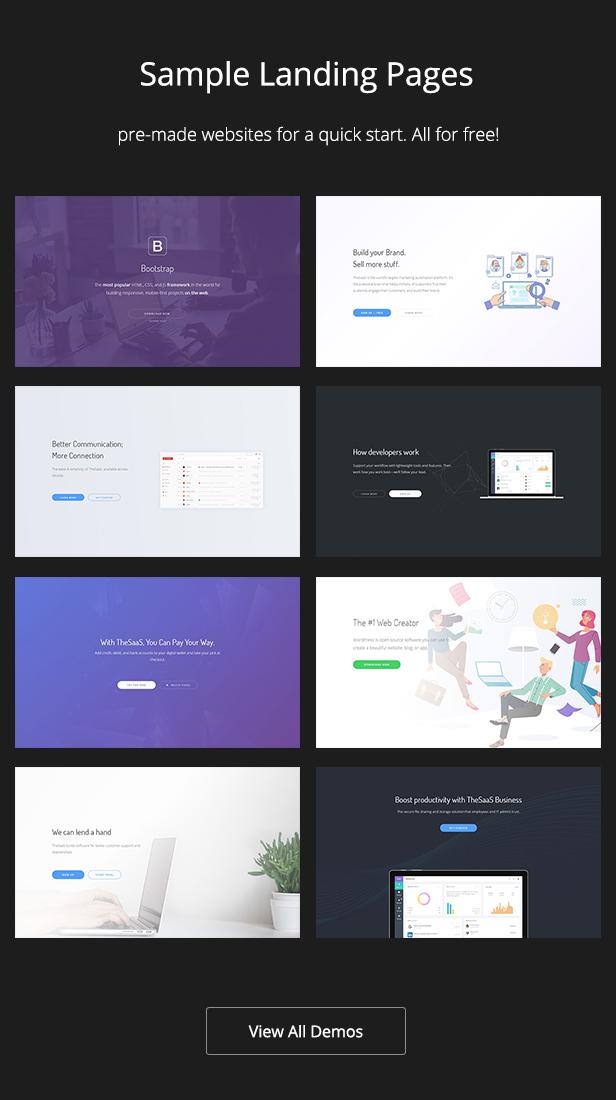 TheSaaS X - Responsive SaaS, Startup & Business WordPress Theme - 8
