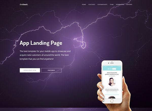 demo app landing